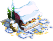 Apple Stand Winter