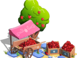 Apple Market Cart
