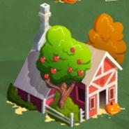 A house on halloween