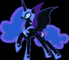 Nightmare Moon vector