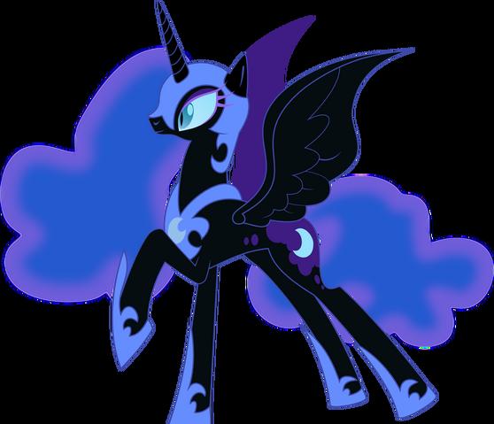 File:Nightmare Moon vector.png