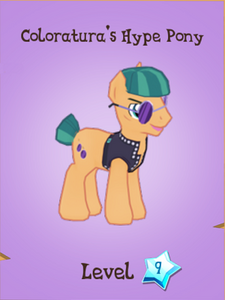 Coloratura's Hype Pony Store Locked