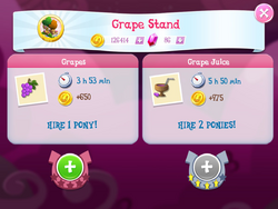 Grape Stand Products