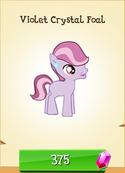 Violet Crystal Foal Store Unlocked