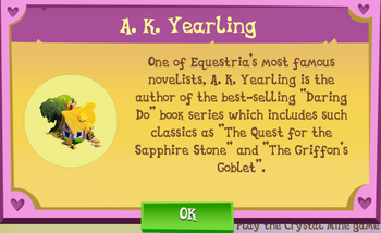 A.K. Yearling Description