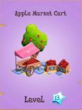 Apple Market Cart Store Locked