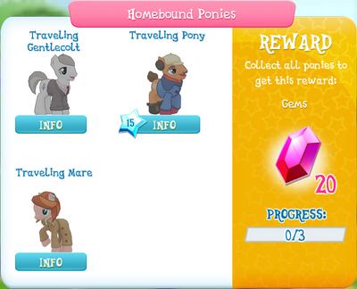 Homebound Ponies