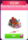 Sable throne discounted