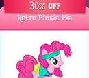 Retro Pinkie Pie