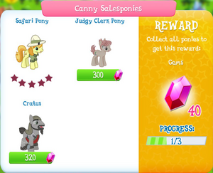 Canny Salesponies