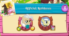 Official Residence residents