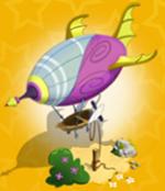Lilac Sky Airship