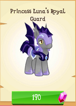 Princess Luna's Royal Guard store