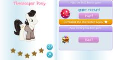 Timekeeper Pony Album