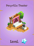 Ponyville Theater Store Locked