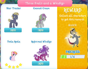 Three Foals and a Windigo