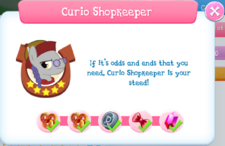 Curio Shopkeeper Album Description