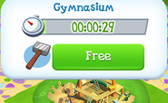Gymnasium built time