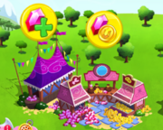 Ponyville gem shop