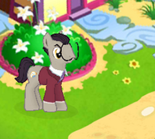 Surrealist pony