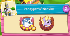 Fancypants' Mansion residents