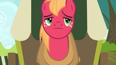 BIG MAC en la Vagoneta GRAN MACINTOSH My Little Pony Friendship is Magic B. McINTOSH Gameloft Juego