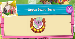 Apple Stars' Barn residents