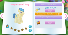 Ivory Crystal Pony album