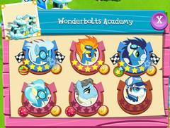 Wonderbolts Academy residents