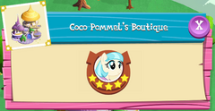 Coco Pommel's Boutique residents