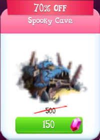Spooky cave discounted