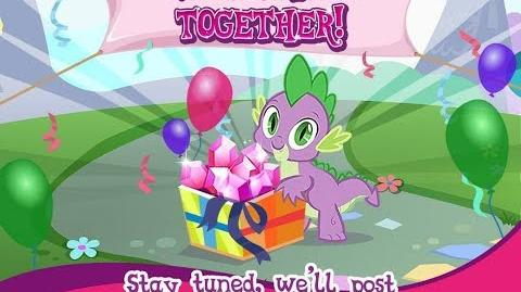 20 FREE GEMS - JUNE 2017 - My Little Pony Friendship is Magic - GAMELOFT - 20 Gemas Gratis Junio
