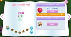 Aqua Crystal Foal album