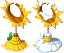 Sun and Moon Statue