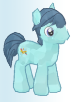 Lead Singer Pony Character Image