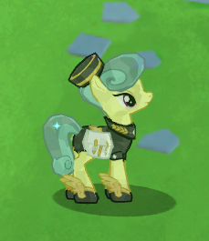 Mercury Pony - In game