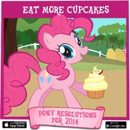 Pony Resolutions 2014 Pinkie Pie