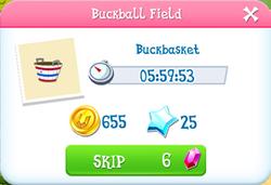 Buckball field item
