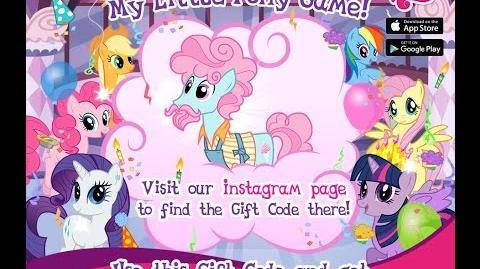 NUEVO PONY GRATIS - NOVIEMBRE 2016 - My Little Pony Friendship is Magic - GAMELOFT - MLP FiM