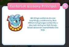 CanterlotAcademyPrincipal info