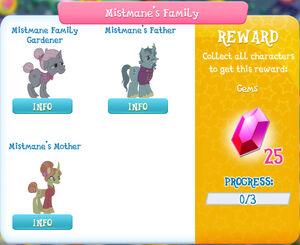 Mistmane's Family