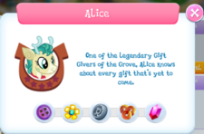 Alice description