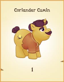 Coriander Cumin inventory