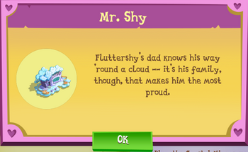 Mr. Shy Album Description