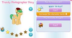 Trendy photographer pony album