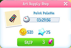 Art supply shop product