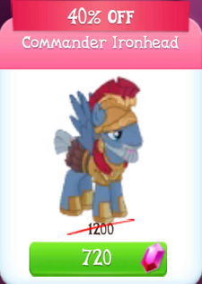 Ironhead discounted