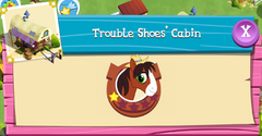 Trouble Shoes' Cabin Residents