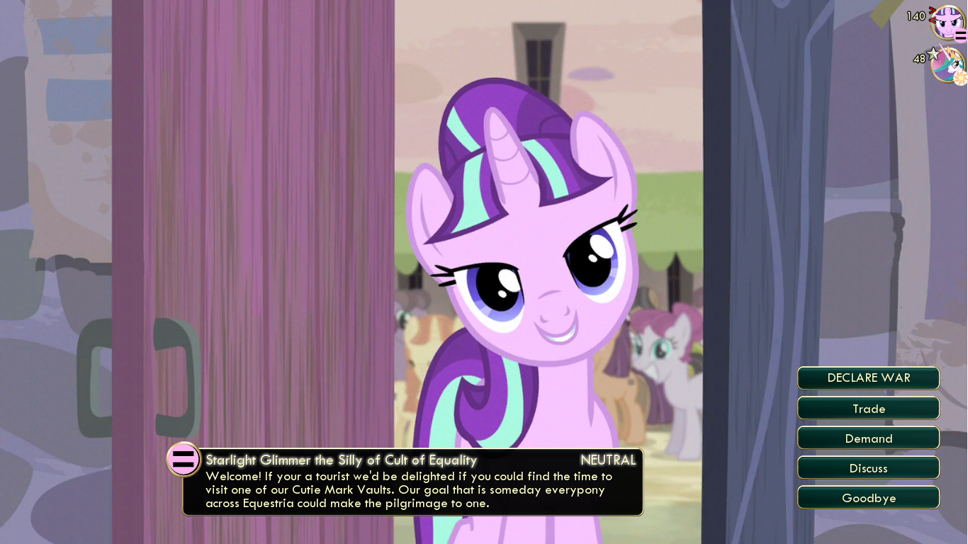 Cult Of Equality My Little Pony Gaming Is Magic Wiki