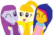 Princesa Rainbow Springs com sua fámilia é conhecidos